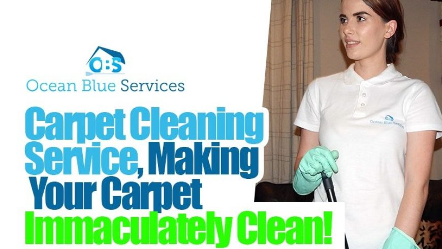 Carpet Cleaning Service, Making Your Carpet Immaculately Clean!