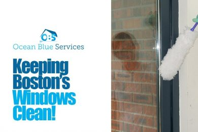 Keeping Boston Windows Clean!