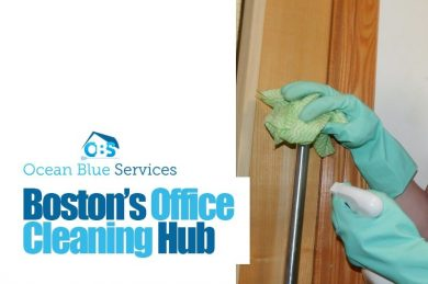 Boston's Office Cleaning Hub