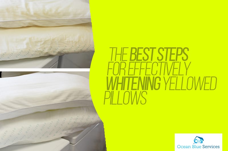 pillows cleaning
