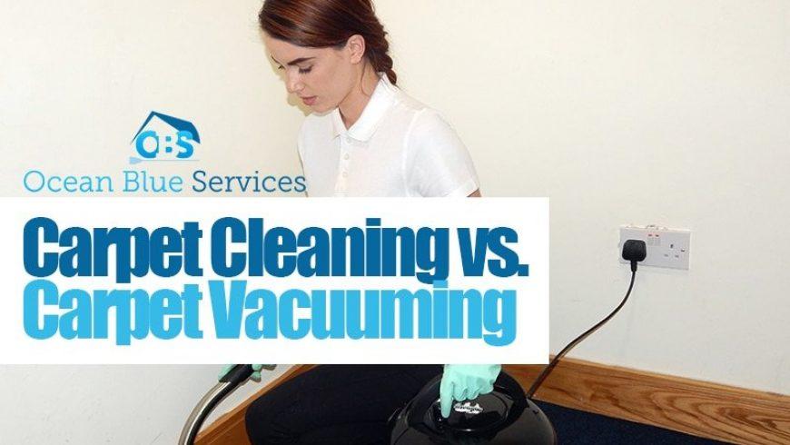 Carpet Cleaning vs. Carpet Vacuuming
