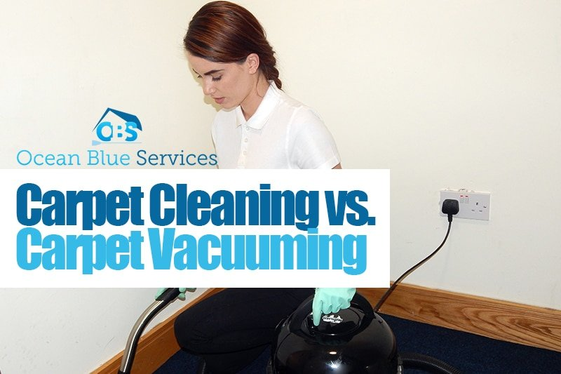 carpet cleaning vs. carpet vacuuming
