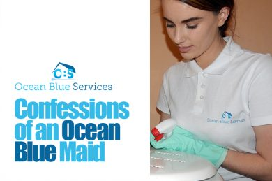 Confessions of an Ocean Blue Maid