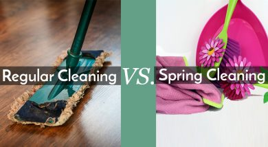 Regular Cleaning vs. Spring Cleaning Services