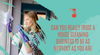 Can You Really Trust A Home Cleaning Business To Be As Nitpicky As You Are?