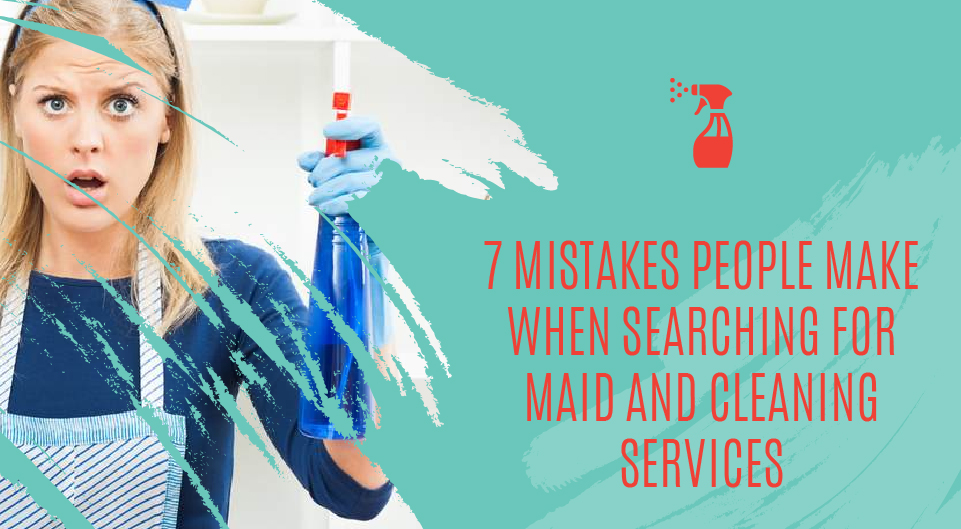 Mistakes Cleaning Services