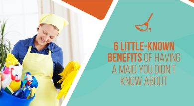 Six Little-Known Benefits of Having a Maid You Didn't Know about