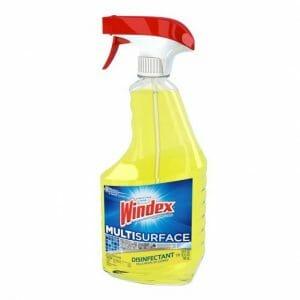 Windex Disinfectant cleaner