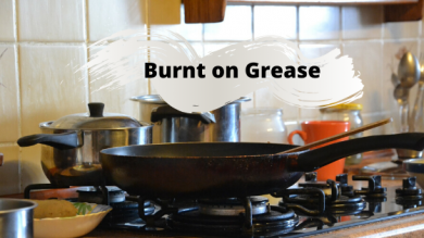 Best Cleaning Agent for Cleaning Burned-on Grease?